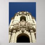 Entrance Of Pasadena's City Hall Print
