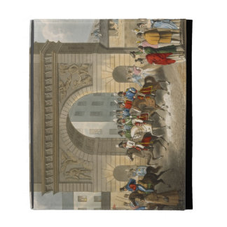 Entrance of the Allies into Paris, engraved by Mat iPad Folio Cover