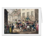 Entrance of the Allies into Paris, March 31st 1814 Card