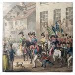 Entrance of the Allies into Paris, March 31st 1814 Ceramic Tile