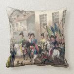 Entrance of the Allies into Paris, March 31st 1814 Pillow
