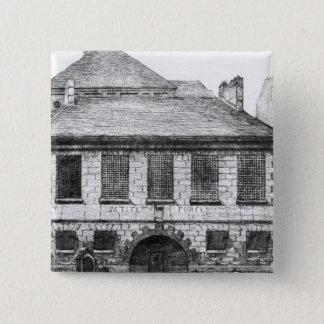 Entrance of the prison 'La Petite Force' Pinback Button