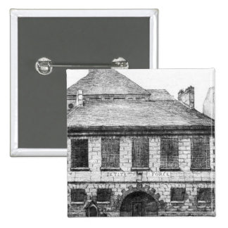 Entrance of the prison 'La Petite Force' Pinback Button