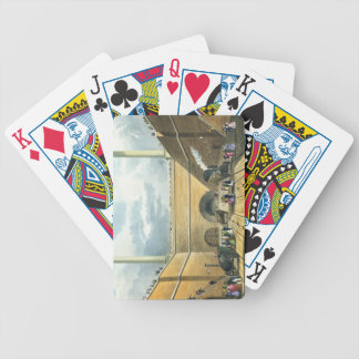 Entrance of the Railway at Edge Hill, Liverpool, p Bicycle Playing Cards