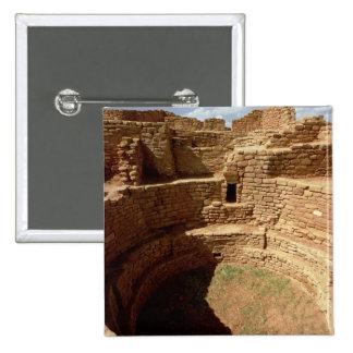 Entrance to a Kiva, built c.11th-14th centuries 2 Inch Square Button