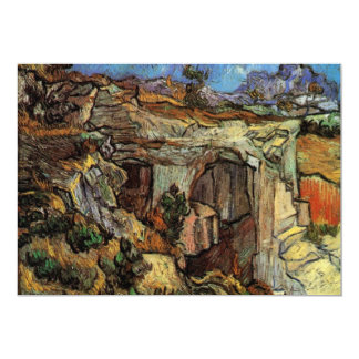 Entrance to a Quarry near Saint-Remy by van Gogh Card