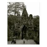 Entrance to Angkor Wat II Post Card