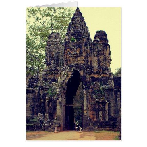 Entrance to Angkor Wat III Cards