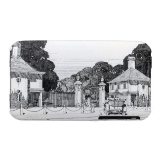 Entrance to Brooklandwood, Baltimore, USA, from Th iPhone 3 Case-Mate Case