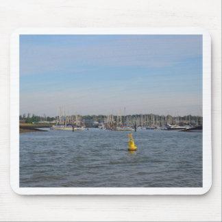 Entrance To Burnham Yacht Harbour Mousepad