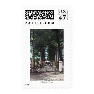 Entrance to Casa Theodore Wagner View Postage