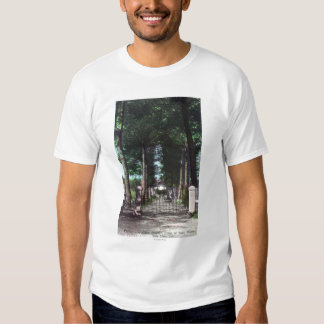 Entrance to Casa Theodore Wagner View Tee Shirt