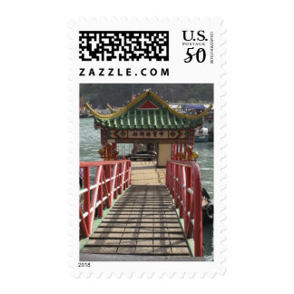entrance to ferry pier for Jumbo Floating Postage