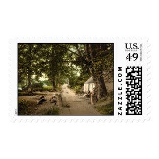 Entrance to Glen Nevis, Fort William, Scotland Stamps