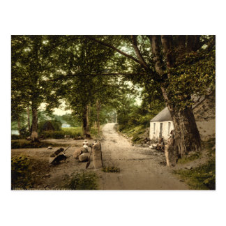 Entrance to Glen Nevis, Fort William, Scotland Postcard