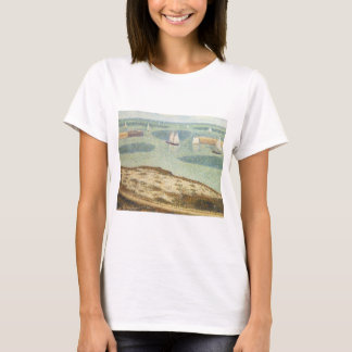 Entrance to Harbor by Georges Seurat, Vintage Art T-Shirt