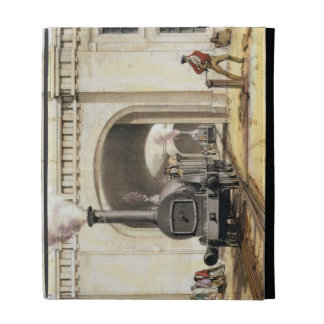 Entrance to Locomotive Engine House, Camden Town, iPad Cases