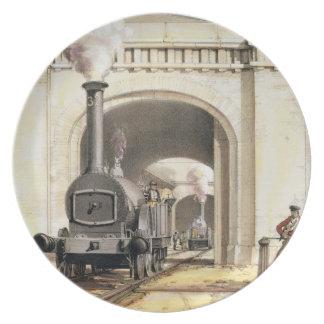 Entrance to Locomotive Engine House, Camden Town, Melamine Plate