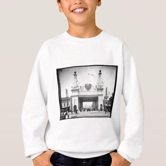 Entrance to Luna Park, Coney Island, N.Y. c1905 Sweatshirt