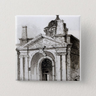 Entrance to Montague House Pinback Button