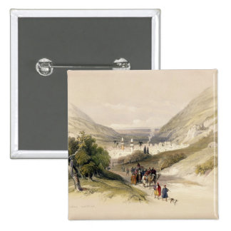 Entrance to Nablous, April 17th 1839, plate 41 fro Button
