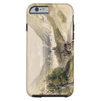 Entrance to Nablous, April 17th 1839, plate 41 fro Tough iPhone 6 Case