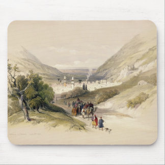 Entrance to Nablous, April 17th 1839, plate 41 fro Mouse Pad