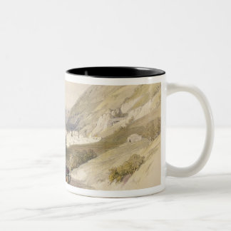 Entrance to Nablous, April 17th 1839, plate 41 fro Two-Tone Coffee Mug