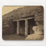 Entrance to Painted Tombs, Egypt circa 1856 Mouse Pad