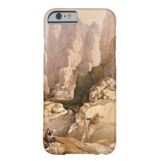 Entrance to Petra, March 10th 1839, plate 98 from Barely There iPhone 6 Case