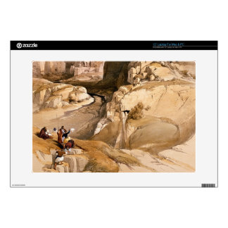 """Entrance to Petra, March 10th 1839, plate 98 from Skin For 15"""" Laptop"""