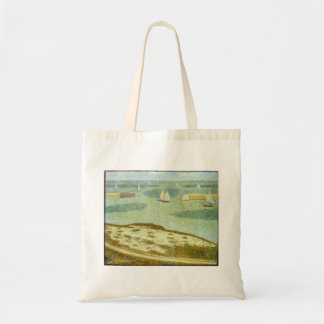 Entrance to Port-en-Bessin by Georges Seurat Tote Bag