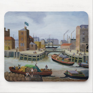 Entrance to Regent's Canal Dock Mouse Pad