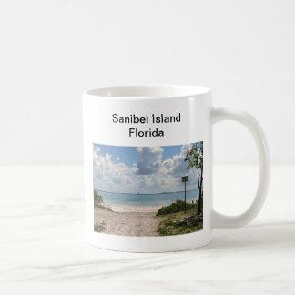 Entrance to Sanibel Beach Coffee Mug