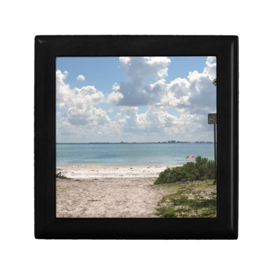 Entrance to Sanibel Beach Jewelry Box