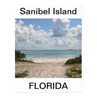 Entrance to Sanibel Beach Postcard
