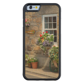 Entrance to Smugglers Bed and Breakfast Carved® Maple iPhone 6 Bumper