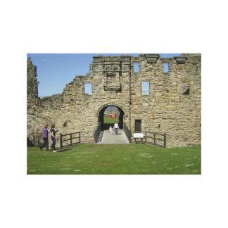 Entrance to St Andrews Castle Canvas Print