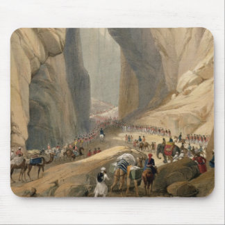Entrance to the Bolan Pass from Dadur, from 'Sketc Mouse Pad