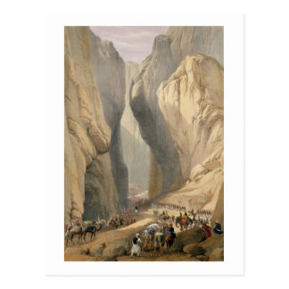 Entrance to the Bolan Pass from Dadur, from 'Sketc Postcard