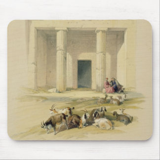 """Entrance to the Caves of Bani Hasan, from """"Egypt a Mouse Pad"""