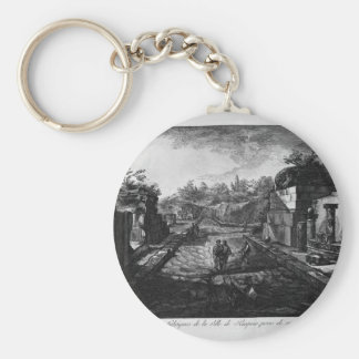 Entrance to the city of Pompeii with the existing Keychain
