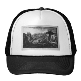 Entrance to the city of Pompeii with the existing Trucker Hat