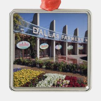 Entrance to the Dallas Farmers Market Ornament