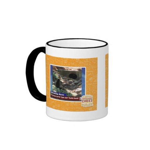 Entrance to the Dark Side Ringer Coffee Mug