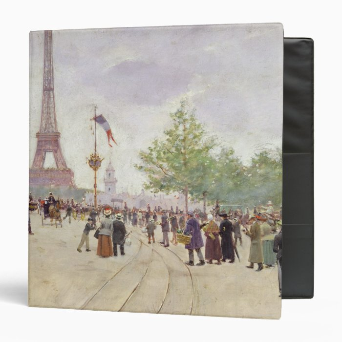 Entrance to the Exposition Universelle, 1889 Binder