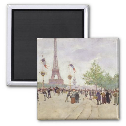 Entrance to the Exposition Universelle, 1889 Refrigerator Magnets