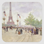 Entrance to the Exposition Universelle, 1889 Sticker
