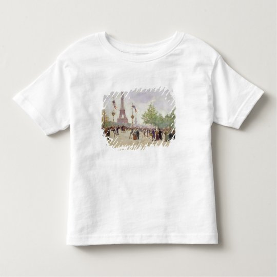 Entrance to the Exposition Universelle, 1889 Toddler T-shirt