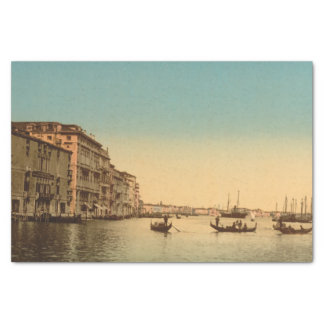 """Entrance to the Grand Canal I, Venice, Italy 10"""" X 15"""" Tissue Paper"""